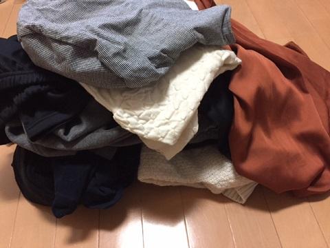 服の断捨離2017.5