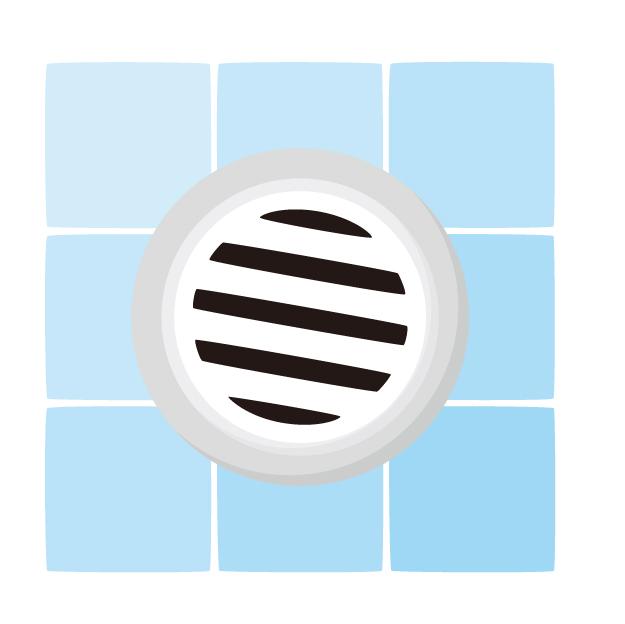 お風呂の排水溝ネットは100均(ダイソー)がおすすめ。掃除がラクに