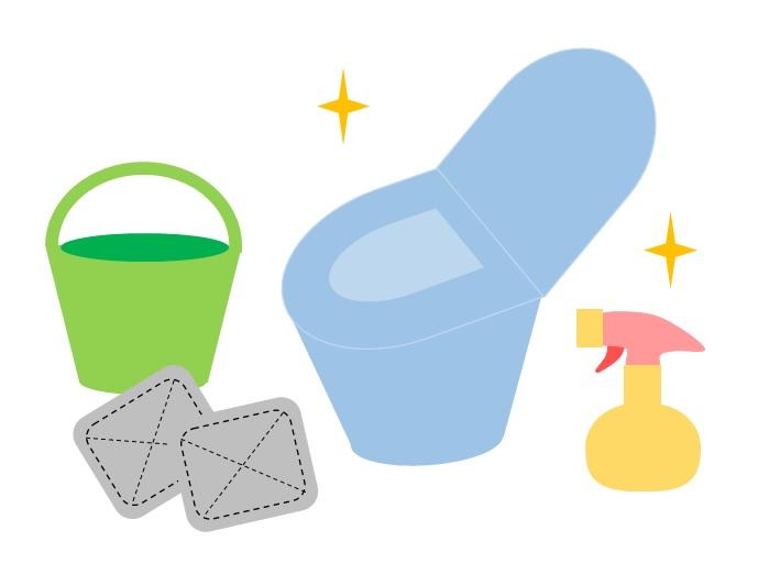 トイレ掃除は使い捨てのみ。おすすめのダイソー商品。頻度を増やしても劇的にラク。