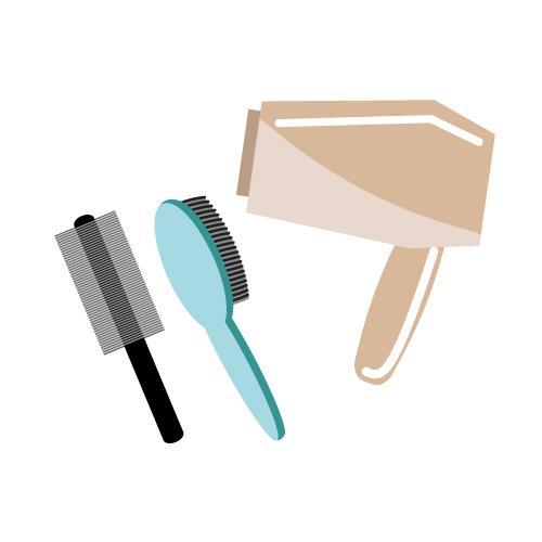 30代ミニマリスト主婦のヘアケアの方法。使用しているものをすべて公開