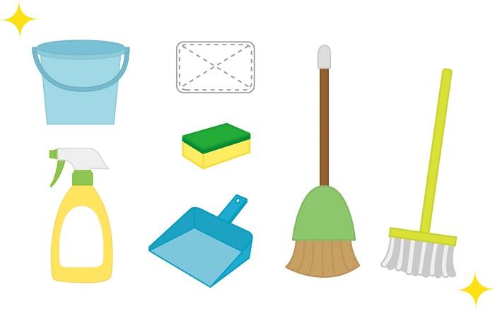ミニマリスト主婦の掃除道具と方法。掃除機や洗剤など使っているものすべて